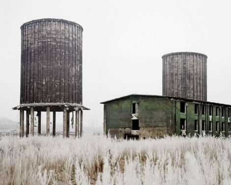 Tamas Dezso, Abandoned Factory, Near Hunedoara, West Romania, 2011