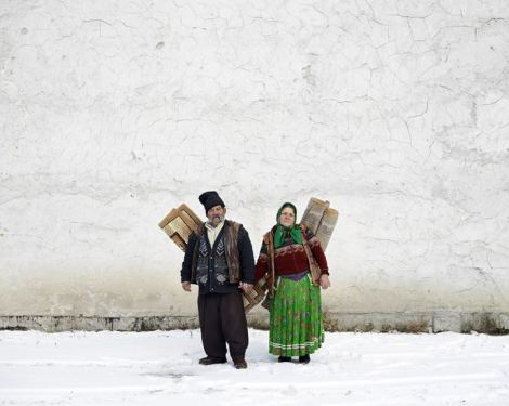 Tamas Dezso, Carpet Sellers, Pojorata, North Romania, 2012