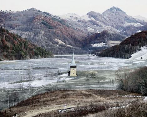 Tamas Dezso, Flooded Village of Geamana, Geamana, Central Romania, 2011