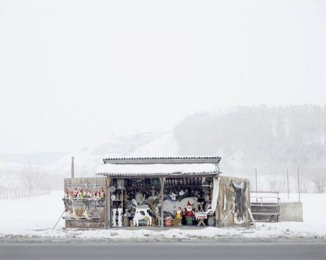 Tamas Dezso, Roadside Shop, near Oradea, West Romania, 2012