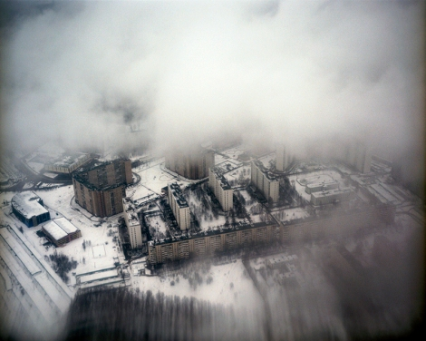 Yola Monakhov Stockton, Plane View, 2004, from Once Our of Nature: Travels through Russia (2003 - 2007)