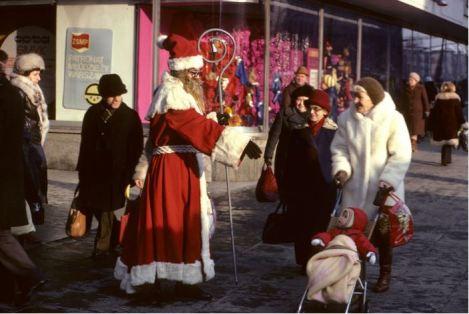 christmas, poland, 1979