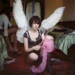 Mariya Kozhanova, Pink Hair, 2012, from Declared Detachment series