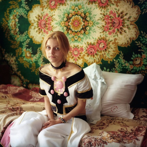 Mariya Kozhanova, Teenage Princess, 2014, from Declared Detachment series
