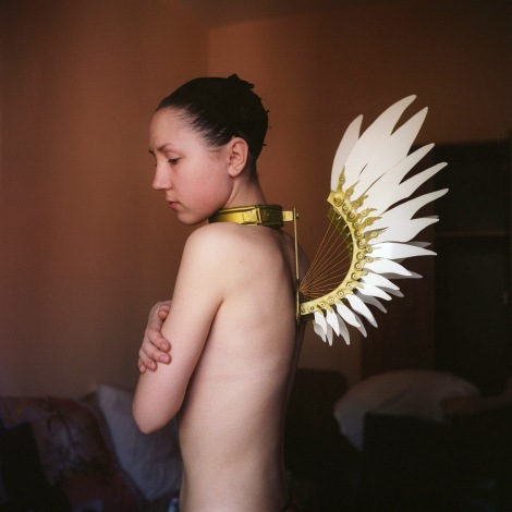 Mariya Kozhanova, Metal Wings, 2012, from Declared Detachment series